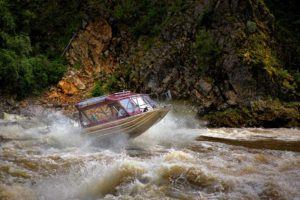 Historical Jet boat tours